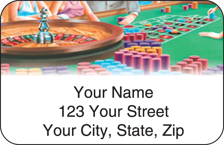 Player Address Labels