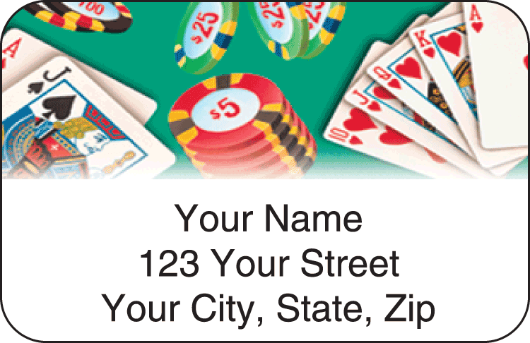 Player Address Labels - click to preview