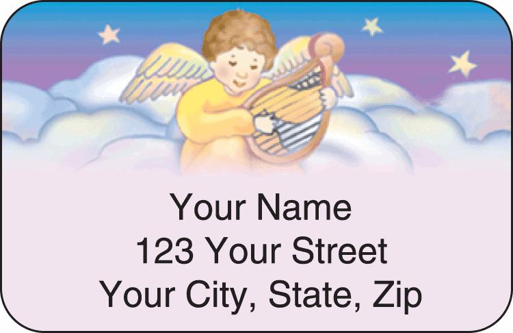 Precious Angels Address Labels