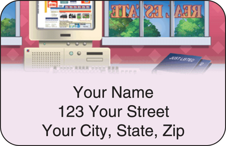 Real Estate Address Labels - click to view larger image