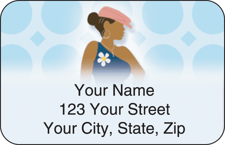 sistas address labels - click to preview