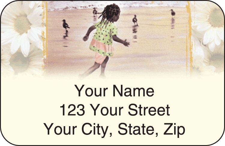 Sweet Mahogany Address Labels
