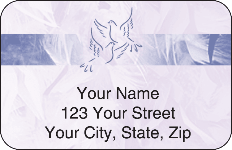 Thy Name Address Labels - click to view larger image