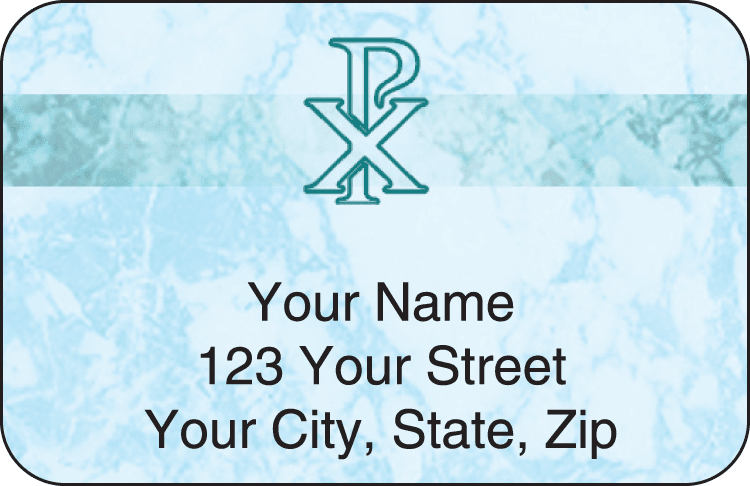 Enlarged view of thy name address labels