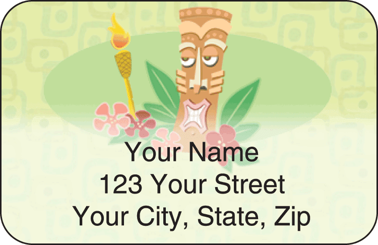 Tiki Address Labels