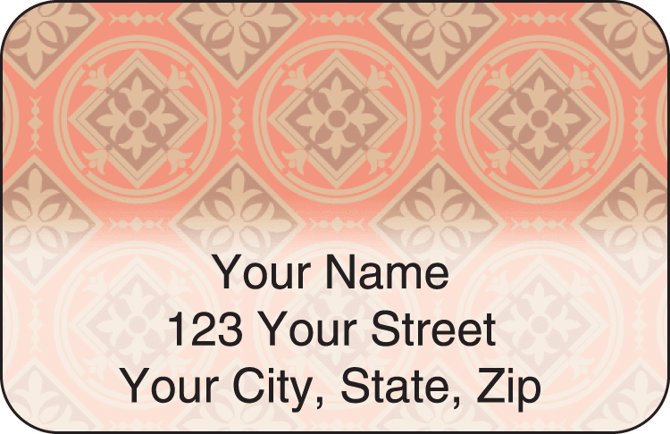 Tuscan Spice Address Labels - click to view larger image
