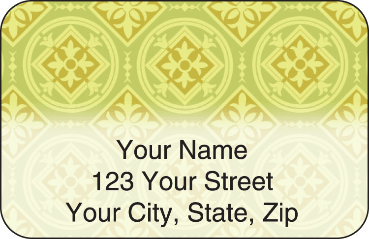 Tuscan Spice Address Labels - click to preview