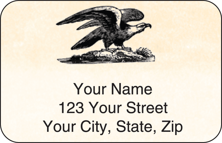 Vintage Address Labels - click to view larger image