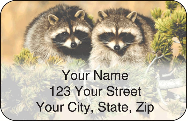 wildlife address labels - click to preview