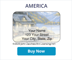 America Address Labels