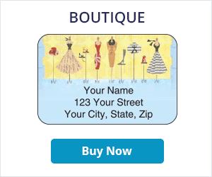 Boutique Address Labels