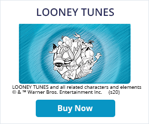 Looney Tunes Leather Checkbook Cover
