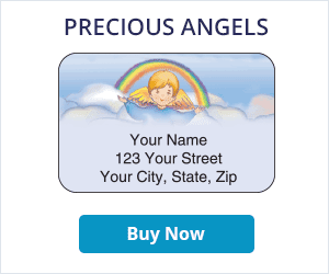 Precious Angels Address Labels