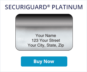 Securiguard Platinum Address Labels