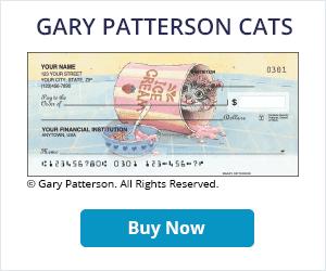 Gary Patterson Cats Checks