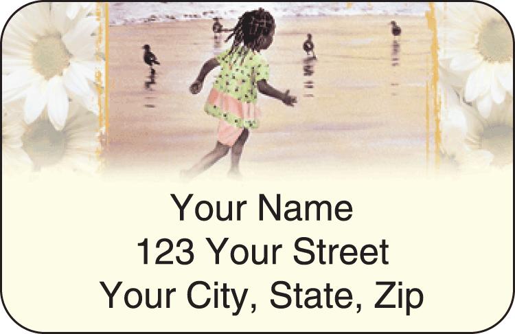 Sweet Mahogany Address Labels