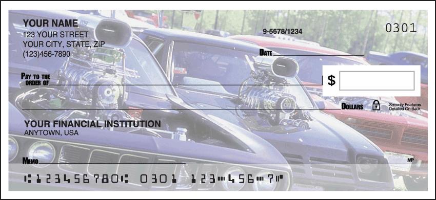 Corvette History Checks - 1 box - Duplicates