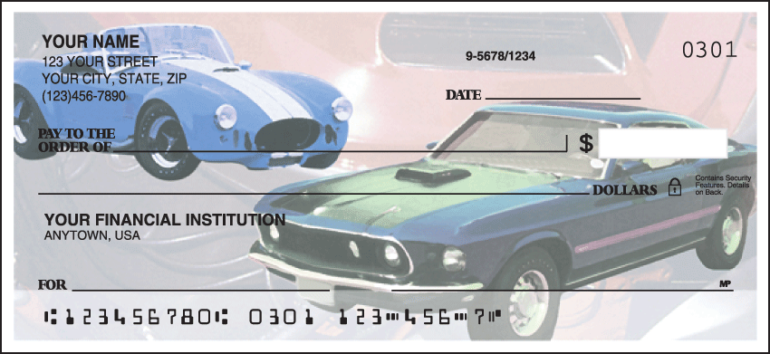 Muscle Car Checks - 1 box - Singles