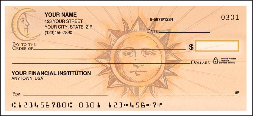 Sun & Moon Checks - 1 box - Singles