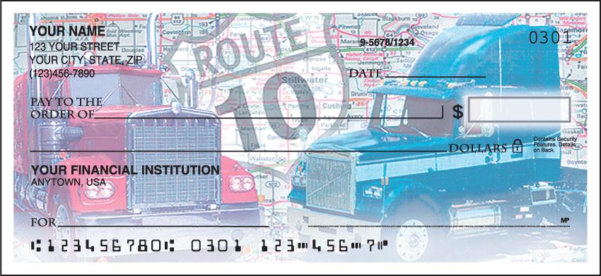 Truckin' Checks - 1 box - Singles